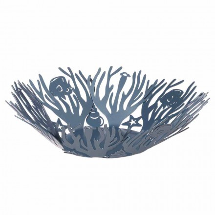 Large Centerpiece with Hand Made Iron Corals Made in Italy - Maste