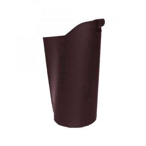 Internal leather pellet basket 15 Kg of Sapel design