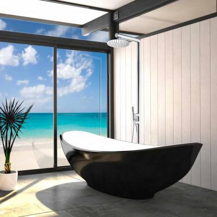 Outdoor shower column Nek Floor by Bossini, with floor water inlet