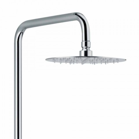 Brass Shower Column with Thermostatic Mixer Made in Italy - Gallo