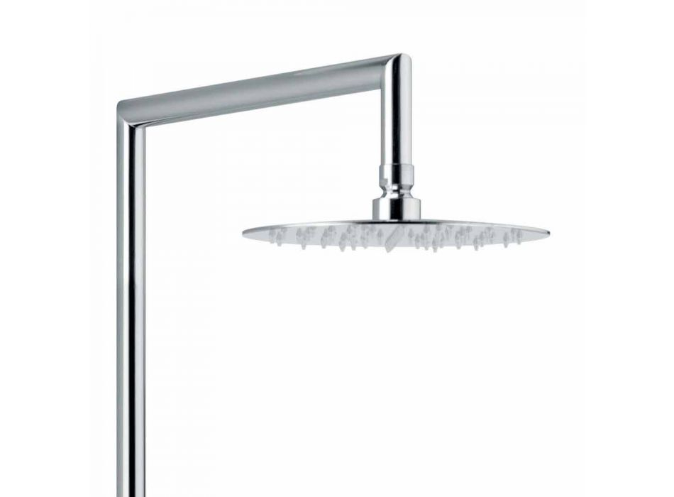 Brass Shower Column with Shower Head and ABS Shower Made in Italy - Padula