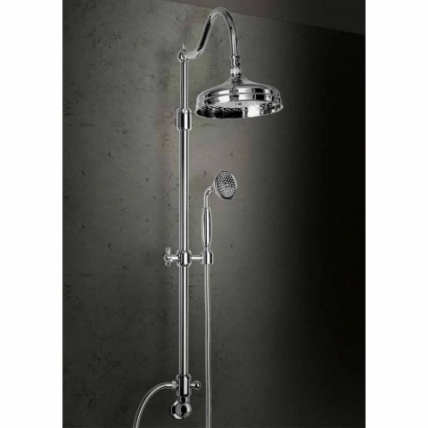 Brass Shower Column Without Mixer Classic Design Made in Italy - Yunda