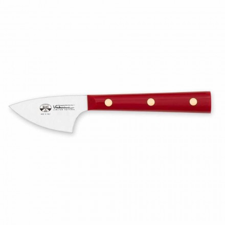 Hard Cheese Knife in Stainless Steel, Berti Exclusive for Viadurini - August