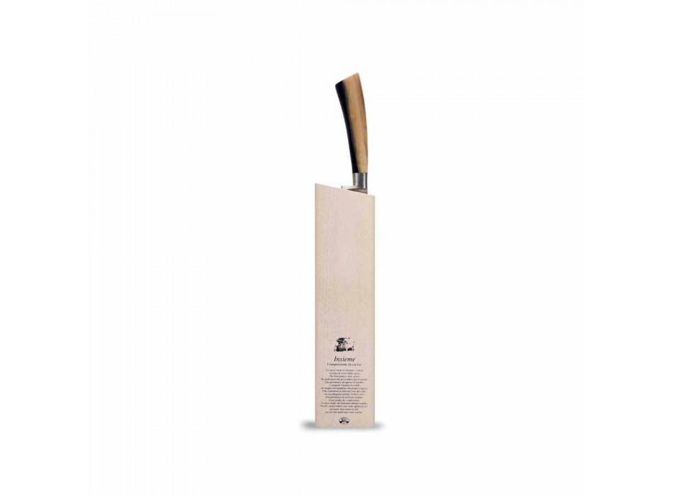 Bread Knife Together with Ceppo Berti exclusively for Viadurini - Gualdo