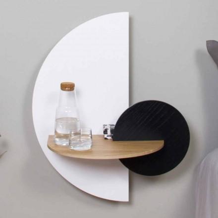 Modern Modular Bedside Table in Plywood Elegant and Versatile Design - Ramia