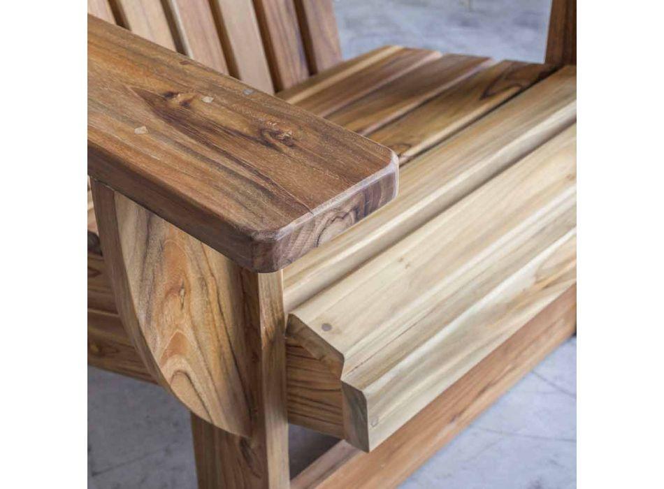 Composition 2 Bathroom Furniture in Solid Teak Wood - Solferino
