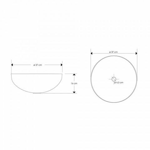 Composition 4 Bathroom Furniture in Teak Wood and Chromed Steel - Beatles