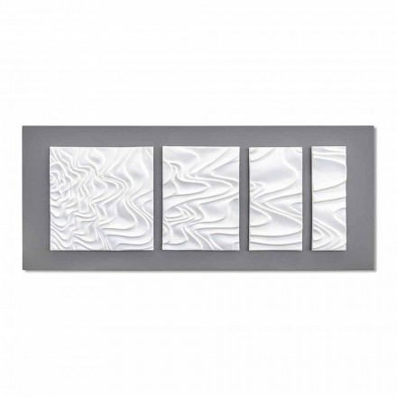 Abstract Modern Design Ceramic Wall Composition Made in Italy - Verno