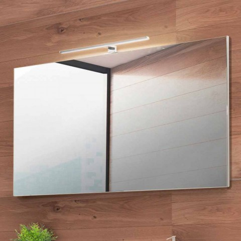 Bathroom Suspended Composition in Fenix Gray - Becky