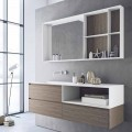 Bathroom Furniture Composition, Modern and Suspended Design Made in Italy - Callisi8
