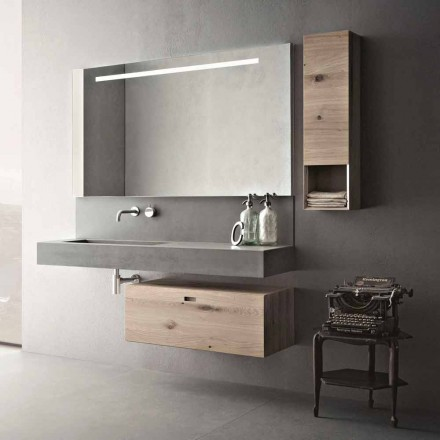 Design Composition for Bathroom Modern Suspended Furniture Made in Italy - Farart2