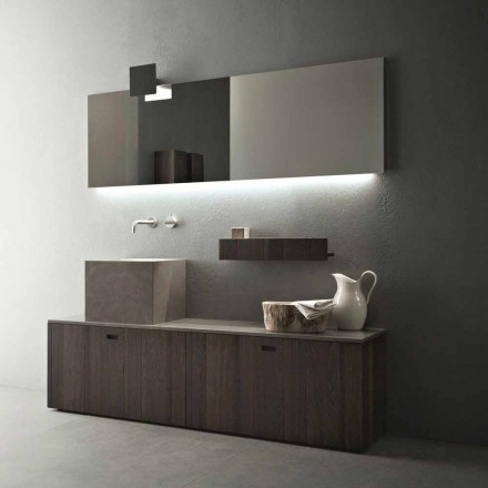 Modern Design Floor-standing Bathroom Furniture Composition - Farart1