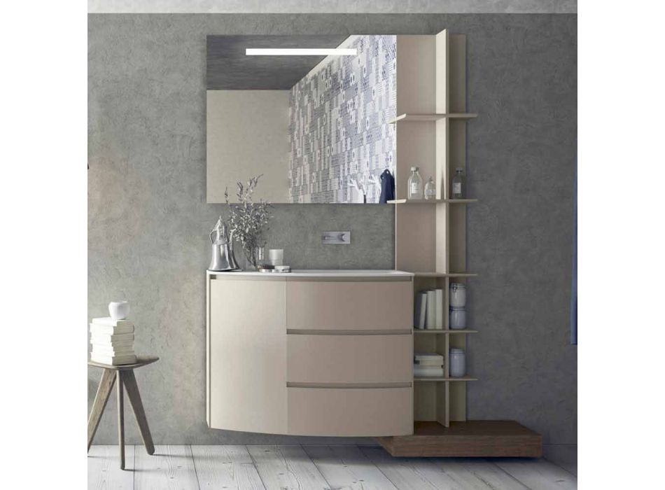 Composition of Furniture for the Bathroom of Modern Design - Callisi13