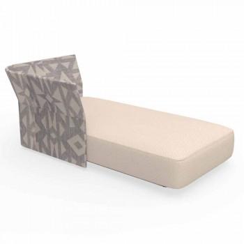 Cliff Talenti modern outdoor furniture composition, design Palomba