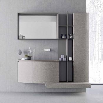 Bathroom Composition, Modern Italian Design Suspension - Callisi10
