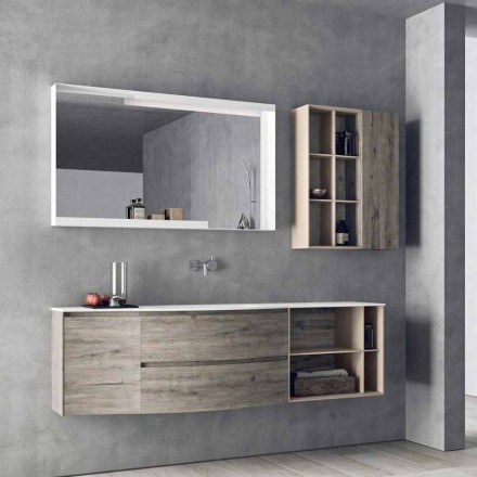 Suspended Design Composition, Modern Design Bathroom Furniture - Callisi5