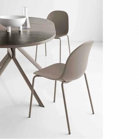 Connubia Calligaris Academy design polypropylene chair, 2 pieces