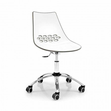 Connubia Calligaris Jam office swivel chair, set of 2, modern design