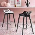 Connubia Jam W wooden stool set of 2, modern design
