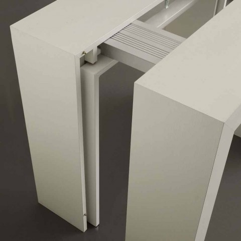 Console extending up to 295 cm in Uri U-shaped folding
