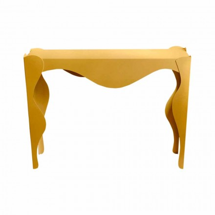 Modern Design Living Room Console in Colored Iron Made in Italy - Gertrude