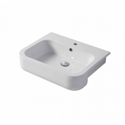 Design  console wall-mounted and wall insert L 60, in ceramic Riardo