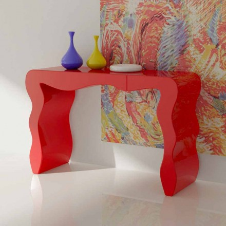 Modern design console made in Italy, Wow