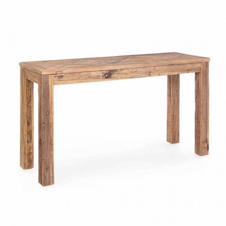 Homemotion Classic Style Recycled Elm Wood Console - Galanga