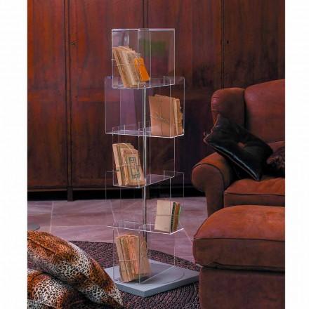 MDF multipurpose storage unit with swivel base Ted, modern design