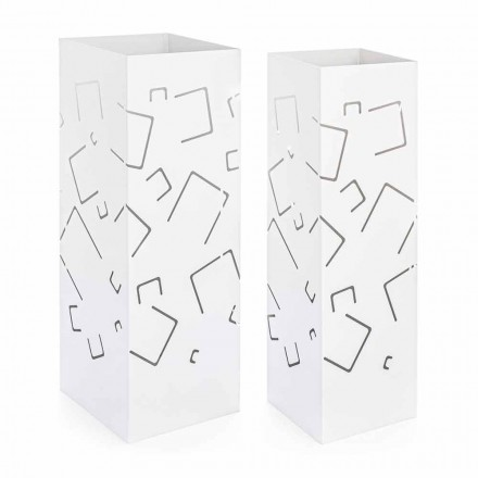 Pair of Umbrella Stand in Modern Homemotion Painted Steel - Formio