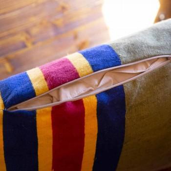 Hand Painted Italian Artistic Cushion Unique Piece - Brands