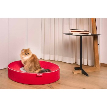 Indoor Dog Cushion Removable in Stain Resistant Microfiber - Colosseum
