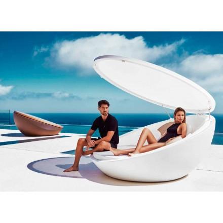 Daybed made with polyethylene resin, modern design Ulm by Vondom