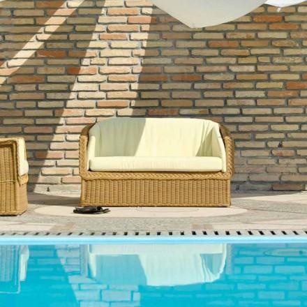 Handmade garden sofa Jonny, modern design