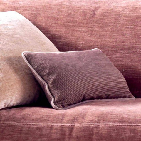 3-seater upholstered design sofa Grilli York made in Italy