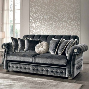 3 seater sofa in fabric partially removable Florence