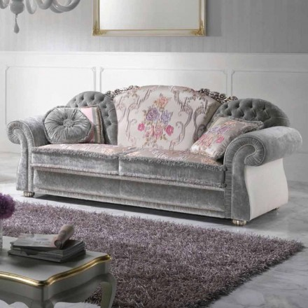 Luxury Classic Sofas Italian Design In Empire Style