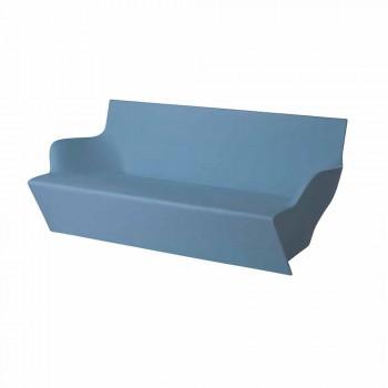 Slide with armrests Slide Kami Yon colored design made in Italy