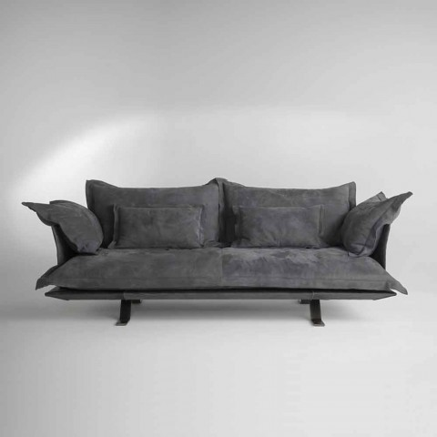 Modern design fabric or leather sofa Shita, 170,220 or 250 cm lenght