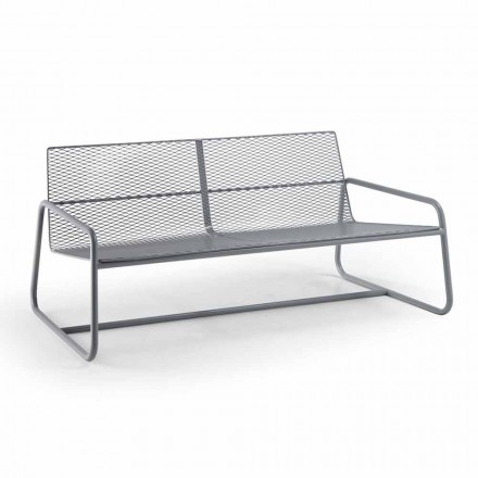 Metal Sofa for the Modern Garden High Quality Made in Italy - Karol