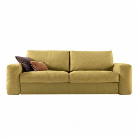 Modern design 3 seater fabric sofa Grilli George made in Italy