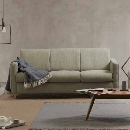 Modern design sofa bed Filippo made of fabric produced in Italy