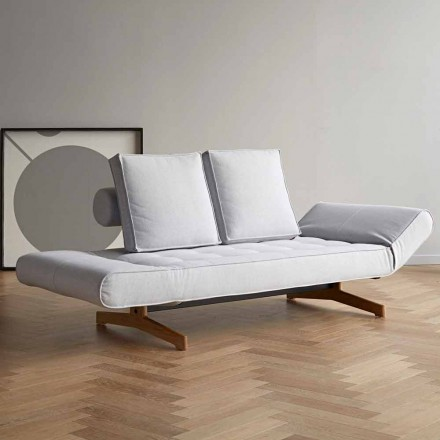 Ghia by Innovation design upholstered sofa bed in fabric