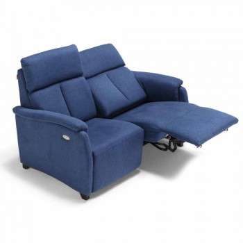 2-seater motorized sofa with 1 electric seat Gelso, modern design