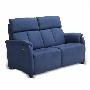 Electric relax sofa 2posts, 2 electric chairs Gelso, modern design