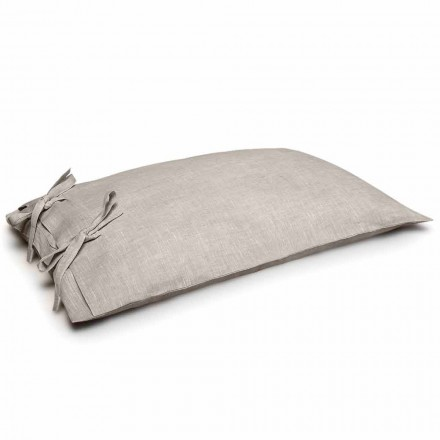 Pure Linen Pillowcase Made in Italy - Daiana