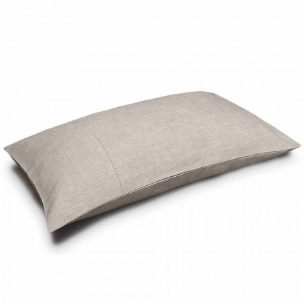 Pure Linen Natural Color Pillowcase Made in Italy - Chiana