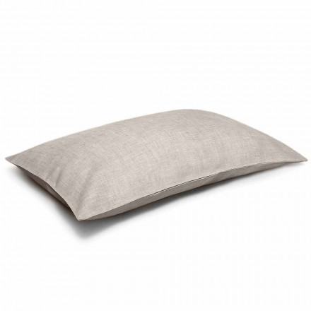 Pure Natural Linen Bed Pillowcase Made in Italy - Blessy