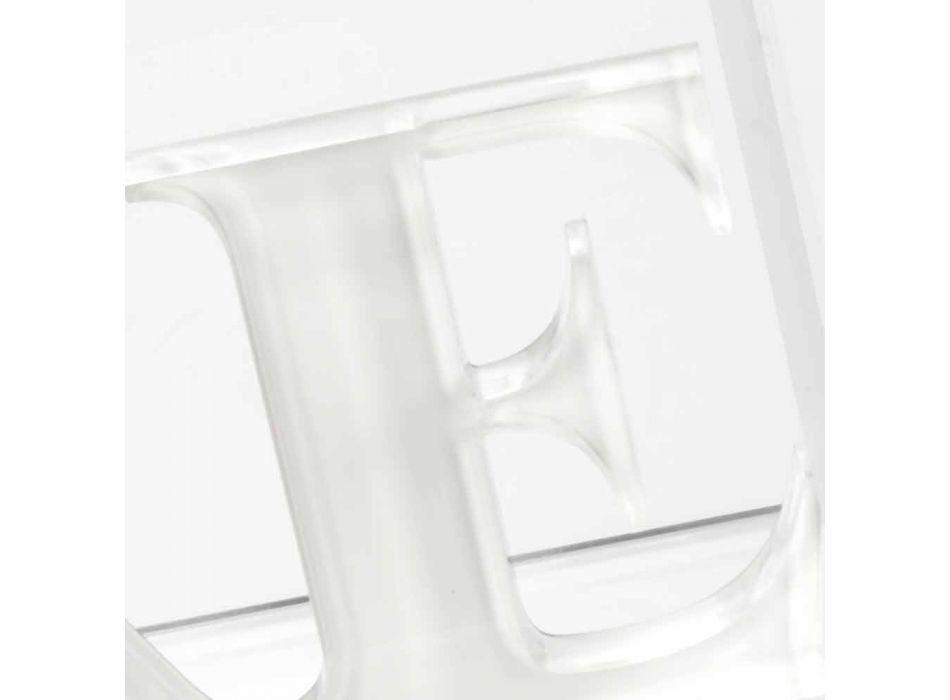 Bookends in Beige or White Plexiglass Read Design - Feread