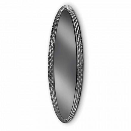 Fiam Veblèn Pasha elliptical wall mirror made in Italy
